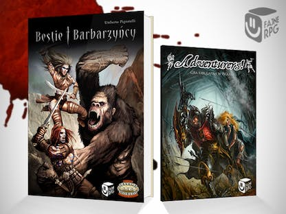 Bestie i Barbarzyńcy / Adventurers! - Fajne RPG crowdsourcing