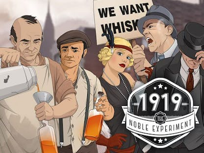 Gra o prohibicji - 1919: The Noble Experiment crowdfunding