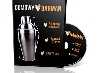 Domowy Barman na DVD crowdsourcing