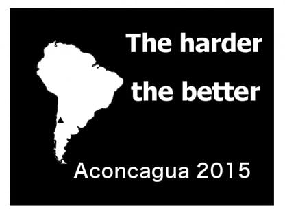 The harder the better Aconcagua 2015 crowdsourcing