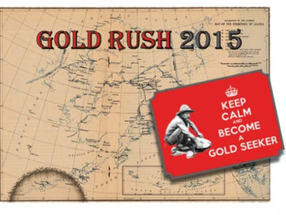 Gold Rush 2015 crowdfunding