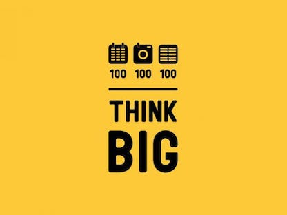 THINK BIG 100/100/100 crowdfunding