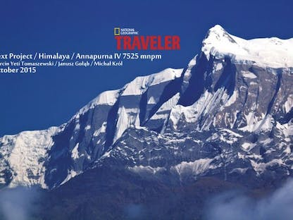 Polish Annapurna IV Expedition 2015 crowdsourcing