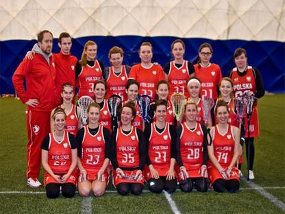 Polish National Women's Team Lacrosse crowdsourcing