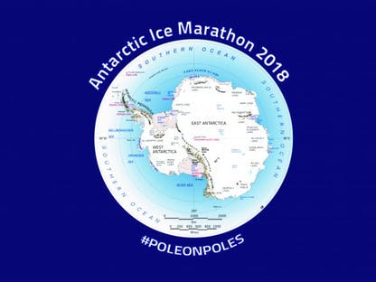 Antarctic Ice Marathon 2018 crowdfunding