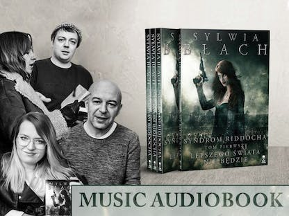 Syndrom Riddocha - music audiobook crowdfunding