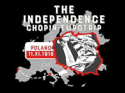 the Independence Chopin Eurotrip. Poland 11.XI.1918 crowdsourcing
