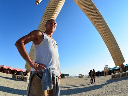 Faces of Burning Man - projekt dokumentalny. polski kickstarter