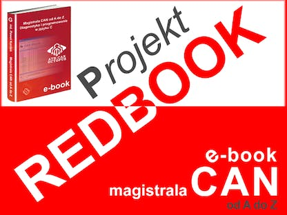 Projekt REDBOOK - magistrala CAN od A do Z polskie indiegogo