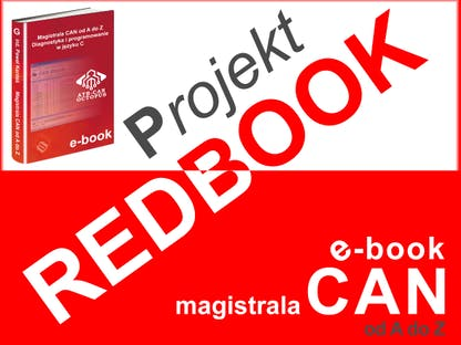 Projekt REDBOOK - magistrala CAN od A do Z polski kickstarter